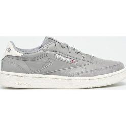 Reebok Classic - Buty Club. Szare buty sportowe męskie Reebok Classic, z gumy. W wyprzedaży za 329.90 zł.