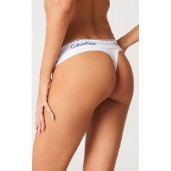 Calvin Klein Stringi Modern Cotton - White. Stringi damskie marki bonprix. Za 80.95 zł.
