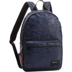 Plecak DIESEL - F-Discover Back X04812 PR027 H6844 Midnight Navy/Allover Logo. Niebieskie plecaki damskie Diesel, z materiału. Za 409.00 zł.