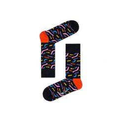 Skarpetki Happy Socks  PAP01-9000. Szare skarpety męskie Happy Socks, z bawełny. Za 34.90 zł.