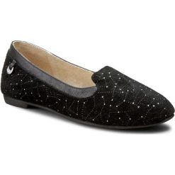 Lordsy UGG - W Bentlie Constellation 1008818 W/Blk. Czarne mokasyny damskie UGG, z materiału. W wyprzedaży za 309.00 zł.