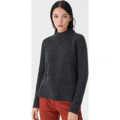 Sweter z półgolfem - Szary. Szare swetry damskie House. Za 79.99 zł.