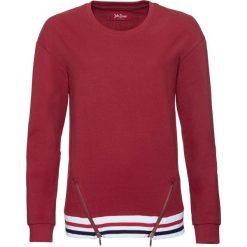 Bluza dresowa, długi rękaw bonprix czerwony. Bluzy damskie marki KALENJI. Za 89.99 zł.