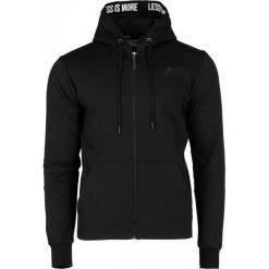 Bluza męska BLM605 - czarny - Outhorn. Czarne bluzy męskie Outhorn, na lato, z bawełny. W wyprzedaży za 79.99 zł.