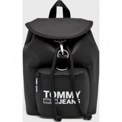 Tommy Jeans - Plecak. Czarne plecaki damskie Tommy Jeans, z jeansu. Za 449.90 zł.
