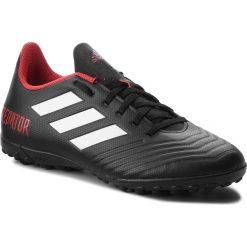 Buty adidas - Predator Tango 18.4 Tf DB2143 Cblack/Ftwwht/Red. Czarne buty sportowe męskie Adidas, ze skóry ekologicznej. Za 249.00 zł.