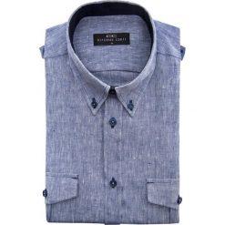 Koszula 15-03-28-K MATTEO. Niebieskie koszule męskie Giacomo Conti, button down, z krótkim rękawem. Za 199.00 zł.