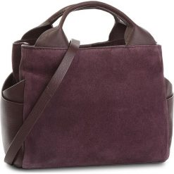Torebka CLARKS - Talara Wish 261375140  Aubergine Suede. Czerwone torby na ramię damskie Clarks. W wyprzedaży za 349.00 zł.