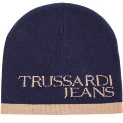 Czapka TRUSSARDI JEANS - Hat Logo Lettering Mixed 57Z00098 U605. Niebieskie czapki i kapelusze męskie TRUSSARDI JEANS. Za 169.00 zł.