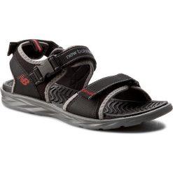 Sandały NEW BALANCE - M2067BGR Czarny. Czarne sandały męskie New Balance, z materiału. W wyprzedaży za 159.00 zł.
