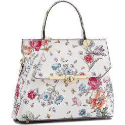 Torebka CREOLE - K10557 Kwiaty. Białe torebki do ręki damskie Creole, w kwiaty, ze skóry. Za 249.00 zł.