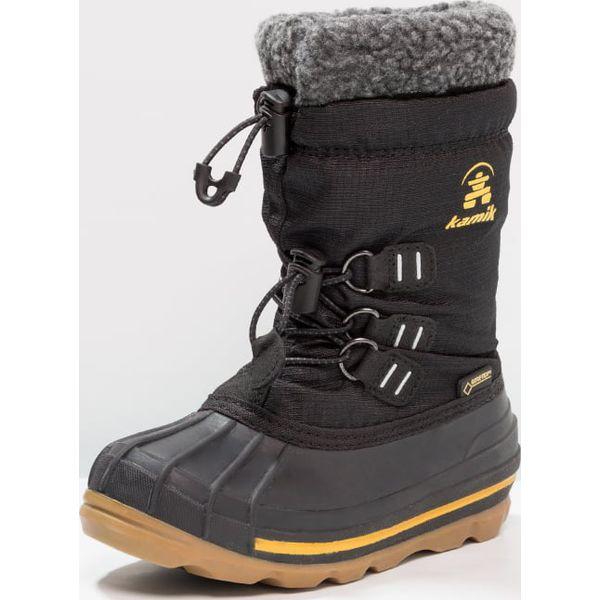 bd6df5b1cb89e Kamik CARMACKGTX Śniegowce black - Buty zimowe dziewczęce marki ...
