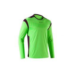Koszulka F500. Fioletowe bluzki z długim rękawem męskie KIPSTA. Za 59.99 zł.