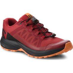 Buty SALOMON - Xa Elevate 406117 26 V0 Red Dahlia/Black/Tangelo. Czerwone buty sportowe męskie Salomon, z materiału. W wyprzedaży za 399.00 zł.