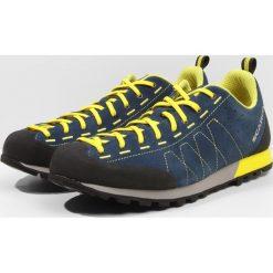 Scarpa HIGHBALL  Obuwie hikingowe ocean/bright yellow. Buty sportowe męskie Scarpa, z materiału, outdoorowe. W wyprzedaży za 494.10 zł.