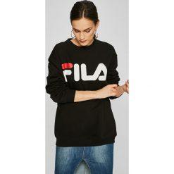 Fila - Bluza. Bluzy damskie Fila, z aplikacjami, z bawełny. W wyprzedaży za 199.90 zł.
