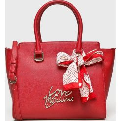 Love Moschino - Torebka. Różowe torby na ramię damskie Love Moschino. Za 999.90 zł.