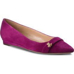 Półbuty LAUREN RALPH LAUREN - Aminah 802713191003 Purple. Fioletowe półbuty damskie Lauren Ralph Lauren, ze skóry ekologicznej. Za 439.90 zł.