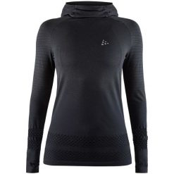 Craft Bluza Damska Core Fuseknit Hood Black L. Czarne bluzy damskie Craft. Za 225.00 zł.