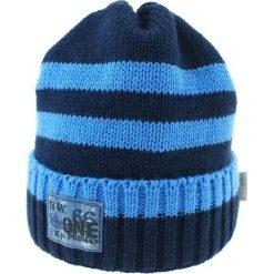 Czapka zimowa CZ 036B. Niebieskie czapki dla dzieci Proman, na zimę. Za 37.42 zł.