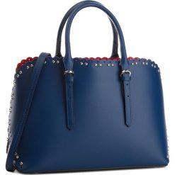 Torebka CREOLE - K10538  Granat. Niebieskie torebki do ręki damskie Creole, ze skóry. Za 359.00 zł.