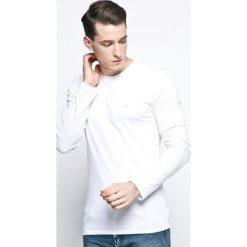 Calvin Klein Underwear - Longsleeve. Szare bluzki z długim rękawem męskie Calvin Klein Underwear, z bawełny, z okrągłym kołnierzem. W wyprzedaży za 139.90 zł.