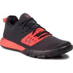 Buty UNDER ARMOUR - Ua Charged Ultimate 3.0 3020548-002 Blk. Czarne buty sportowe męskie Under Armour, z materiału. W wyprzedaży za 259.00 zł.