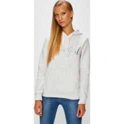 Fresh Made - Bluza. Szare bluzy damskie Fresh Made, z aplikacjami, z bawełny. W wyprzedaży za 129.90 zł.