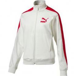Bluza w kolorze białym. Białe bluzy damskie Puma, prążkowane. W wyprzedaży za 136.95 zł.
