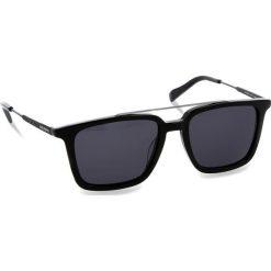 Okulary przeciwsłoneczne BOSS - 0305/S Black 807. Czarne okulary przeciwsłoneczne męskie Boss, z tworzywa sztucznego. W wyprzedaży za 419.00 zł.