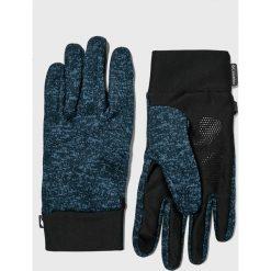 Columbia - Rękawiczki. Czarne rękawiczki męskie Columbia, z dzianiny. Za 129.90 zł.