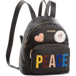 Plecak LOVE MOSCHINO - JC4270PP06KJ0000 Nero. Czarne plecaki damskie Love Moschino, ze skóry ekologicznej. W wyprzedaży za 769.00 zł.