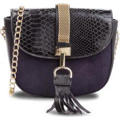 Torebka MONNARI - BAG8060-020 Black. Czarne torebki do ręki damskie Monnari, z materiału. W wyprzedaży za 149.00 zł.