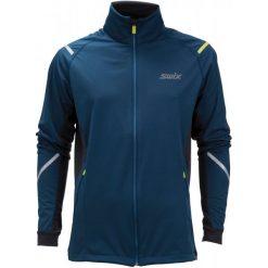 Swix Kurtka Softshell Męska Cross Niebieski Xl. Niebieskie kurtki sportowe męskie Swix, z softshellu. Za 455.00 zł.