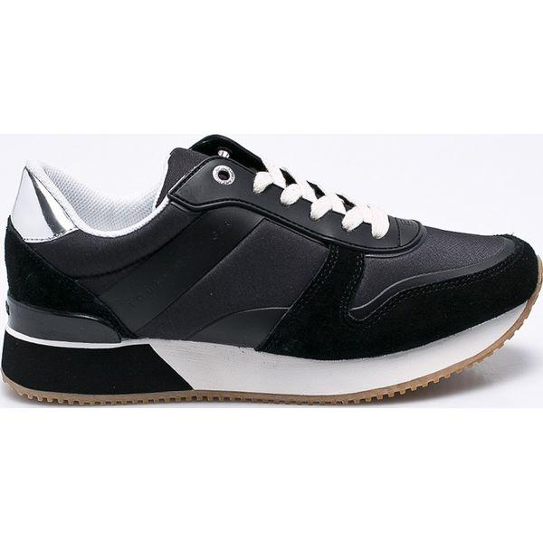 d355b872e2353 Tommy Hilfiger - Buty - Czarne obuwie sportowe damskie marki Tommy ...