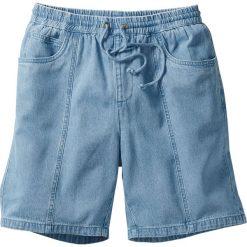 Bermudy z gumką w talii Classic Fit bonprix jasnoniebieski. Niebieskie szorty męskie bonprix. Za 69.99 zł.