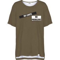Colour Pleasure Koszulka damska CP-033 270 zielona r. uniwersalny. T-shirty damskie Colour Pleasure. Za 76.57 zł.