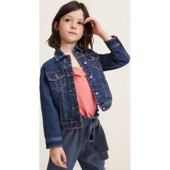 Mango Kids - Kurtka dziecięca Allegra 104-164 cm. Szare kurtki i płaszcze dla dziewczynek Mango Kids, z bawełny. Za 99.90 zł.