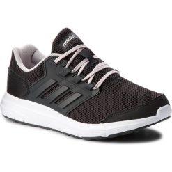 Buty adidas - Galaxy 4 B43837 Cblack/Carbon/Icepur. Czarne obuwie sportowe damskie Adidas, z materiału. W wyprzedaży za 179.00 zł.