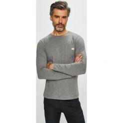 Diesel - Longsleeve. Szare bluzki z długim rękawem męskie Diesel, z bawełny, z okrągłym kołnierzem. Za 189.90 zł.