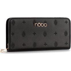 Duży Portfel Damski NOBO - NPUR-D0143-C020 Czarny. Czarne portfele damskie Nobo, ze skóry ekologicznej. W wyprzedaży za 89.00 zł.