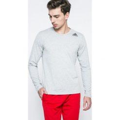 Adidas Performance - Longsleeve. Szare bluzki z długim rękawem męskie adidas Performance, z dzianiny, z okrągłym kołnierzem. Za 129.90 zł.