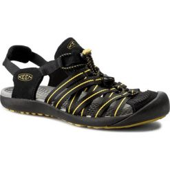 Sandały KEEN - Kuta 1012620 Black/Caylon Yellow. Czarne sandały męskie Keen, z materiału. W wyprzedaży za 229.00 zł.