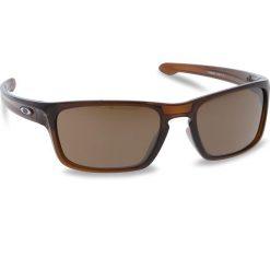 Okulary przeciwsłoneczne OAKLEY - Silver Stealth OO9408-0256 Polished Rootbeer/Prizm Tungsten. Brązowe okulary przeciwsłoneczne męskie Oakley, z tworzywa sztucznego. W wyprzedaży za 479.00 zł.