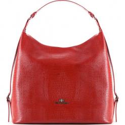 Torebka damska 15-4-209-3J. Czerwone torebki do ręki damskie Wittchen, w paski. Za 479.00 zł.