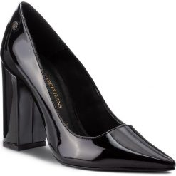 Półbuty TRUSSARDI JEANS - 79A00294 K299. Czarne półbuty damskie TRUSSARDI JEANS, z jeansu, eleganckie. W wyprzedaży za 449.00 zł.
