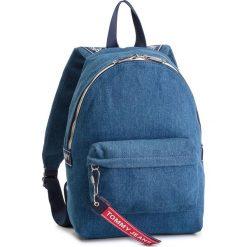 cdc2c9d5d6ff5 Plecak TOMMY JEANS - Tju Logo Tape Mini Backpack Denim AU0AU00673 904.  Plecaki damskie marki