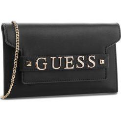 Torebka GUESS - HWVG68 76730 BLA. Czarne torebki do ręki damskie Guess, z aplikacjami, ze skóry ekologicznej. Za 449.00 zł.
