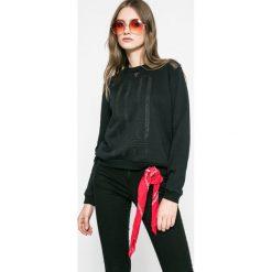 Roxy - Bluza Ride Freely. Czarne bluzy damskie Roxy, z bawełny. W wyprzedaży za 139.90 zł.