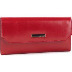 Duży Portfel Damski MONNARI - PUR0730-005 Red. Czerwone portfele damskie Monnari, ze skóry ekologicznej. W wyprzedaży za 149.00 zł.